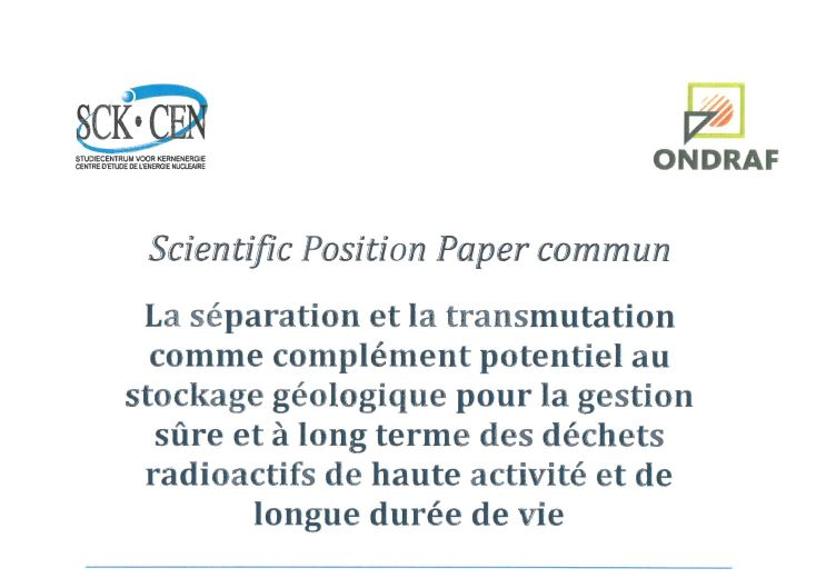 Cover Common Position Paper_FR